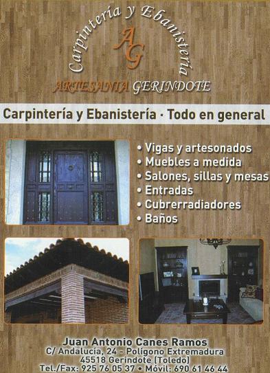 carpinteria ebanisteria