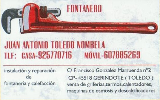 Fontanero Juan Antonio