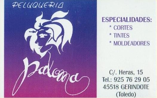 Peluqueria Paloma