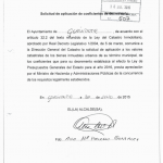 IBI. EL ACTUAL EQUIPO DE GOBIERNO SOLICITÓ LA BAJADA DE LAS CONTRIBUCIONES PARA EL AÑO 2.016.