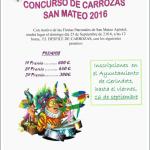 CONCURSO DE CARROZAS SAN MATEO 2016