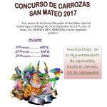 CONCURSO DE CARROZAS SAN MATEO 2017