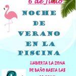 NOCHE DE VERANO EN PISCINA MUNICIPAL