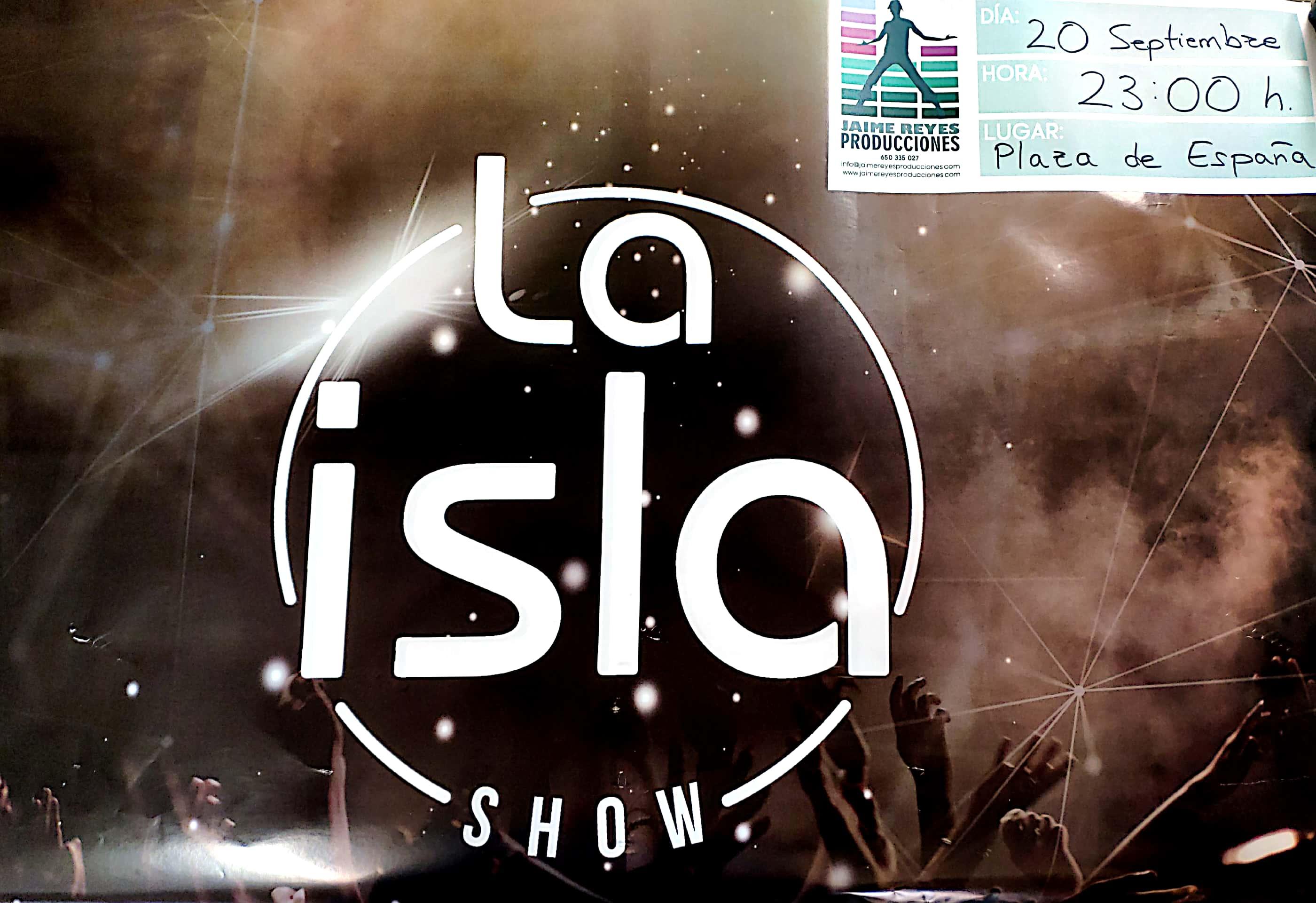 Cartel Isla show