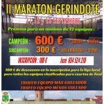 2do. Maratón fútbol sala Gerindote