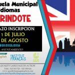 Reunión informativa y prueba de nivel de la escuela municipal de idiomas