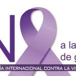 25 de noviembre: Día internacional contra la violencia de género.