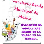 CONCIERTO BANDA MUNICIPAL DE MÚSICA