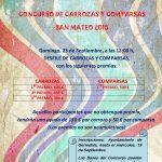 PREMIOS DEL CONCURSO DE CARROZAS Y COMPARSAS SAN MATEO 2018