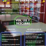 DESCUBRE TODAS LAS NOVEDADES EN LA BIBLIOTECA MUNICIPAL Y CENTRO DE INTERNET DE GERINDOTE