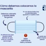INFORMACIÓN SOBRE EL USO OBLIGATORIO DE MASCARILLAS