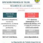 CONVOCATORIA PÚBLICA DE LOS PROGRAMAS PARA LA RECUALIFICACIÓN Y EL RECICLAJE PROFESIONAL  EN LA PROVINCIA DE TOLEDO